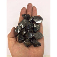 Elite Shungite Stone 100 gr/0,22 lb for Water (5-10 gr per Stone) Noble Shungite Stones Silver